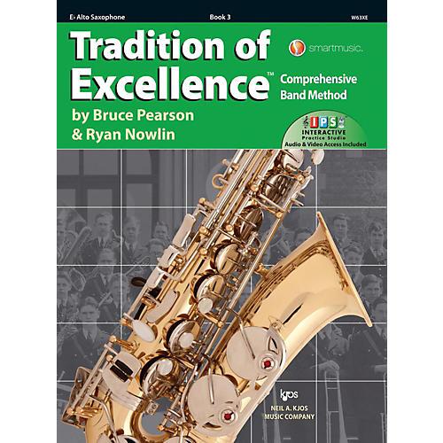 KJOS Tradition of Excellence Book 3 Alto sax