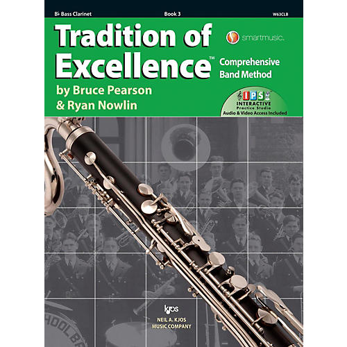 KJOS Tradition of Excellence Book 3 Bass clarinet-thumbnail
