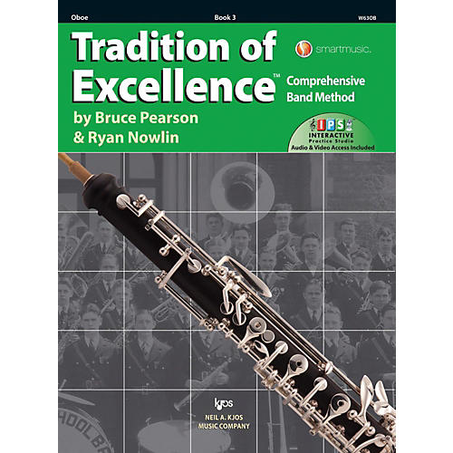KJOS Tradition of Excellence Book 3 Oboe-thumbnail