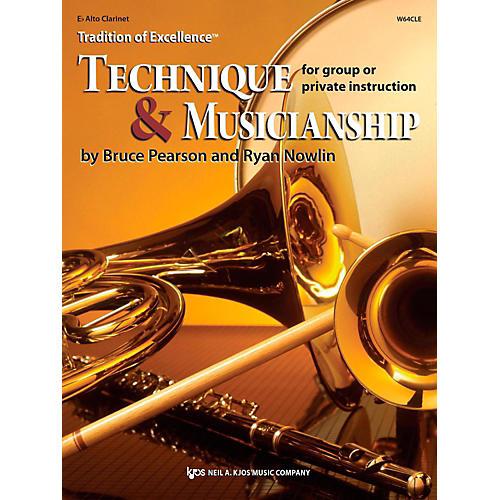 KJOS Tradition of Excellence: Technique & Musicianship Alto Clarinet-thumbnail