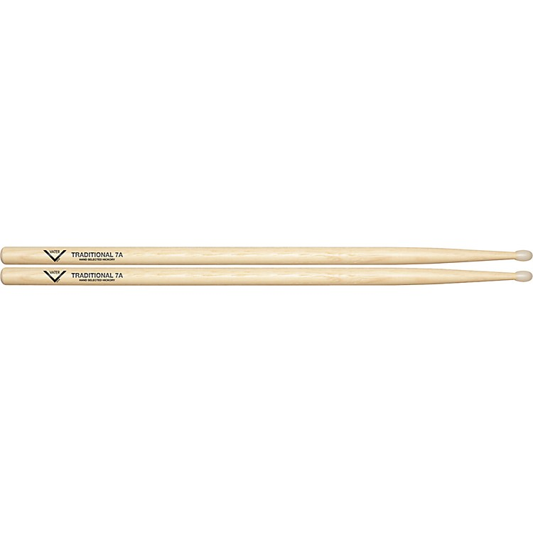 Vater Traditional 7A Drumsticks Nylon