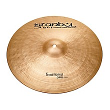 Istanbul Agop Traditional Dark Crash Cymbal