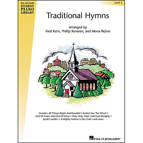 Hal Leonard Traditional Hymns Level 3 Hal Leonard Student Piano Library