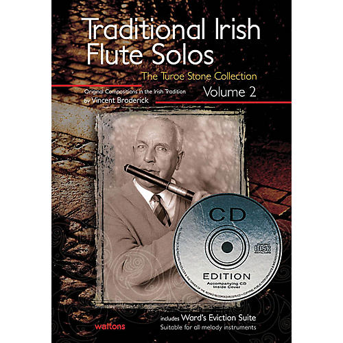 Waltons Traditional Irish Flute Solos - Volume 2 Waltons Irish Music Books Series Written by Vincent Broderick-thumbnail