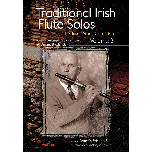 Waltons Traditional Irish Flute Solos - Volume 2 Waltons Irish Music Books Series Written by Vincent Broderick-thumbnail
