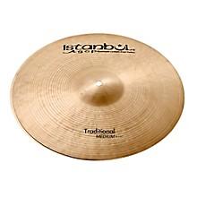 Istanbul Agop Traditional Medium Hi-Hat Cymbals 14 in.