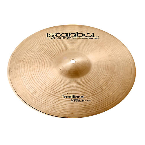 Istanbul Agop Traditional Medium Hi-Hat Cymbals