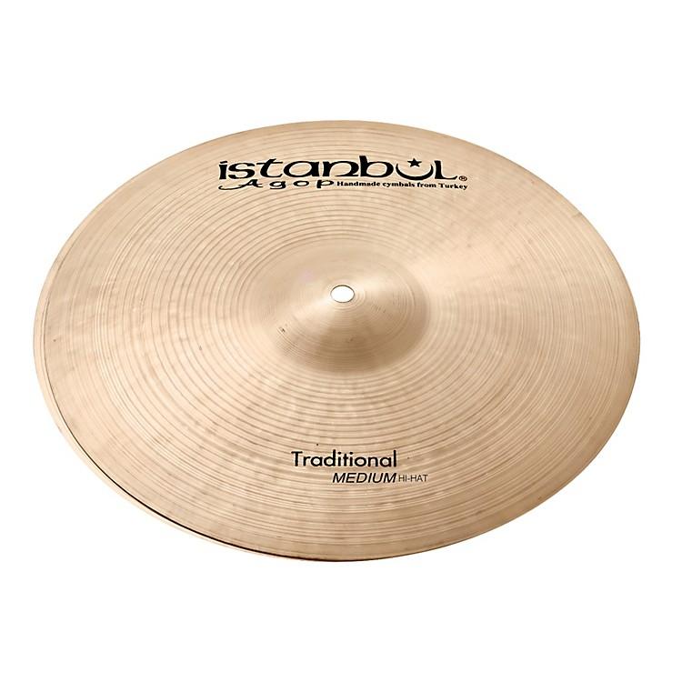 Istanbul AgopTraditional Medium Hi-Hat Cymbals15 Inch