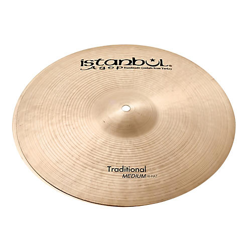 Istanbul Agop Traditional Medium Hi-Hat Cymbals-thumbnail