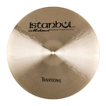 Istanbul Mehmet Traditional Series Dark Crash 18 in.