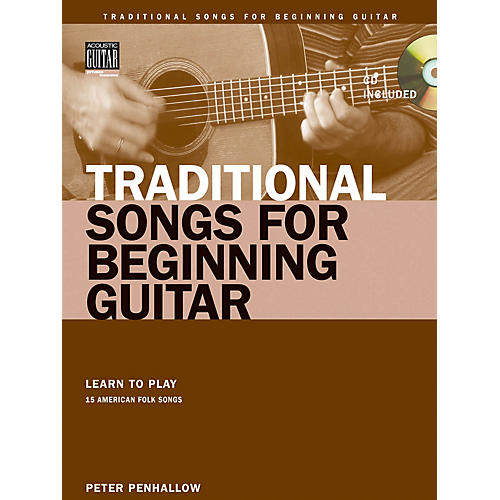 String Letter Publishing Traditional Songs for Beginning Guitar String Letter Publishing Softcover with CD by Peter Penhallow-thumbnail