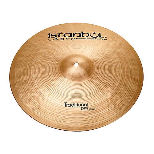 Istanbul Agop Traditional Thin Crash Cymbal 20 Inch