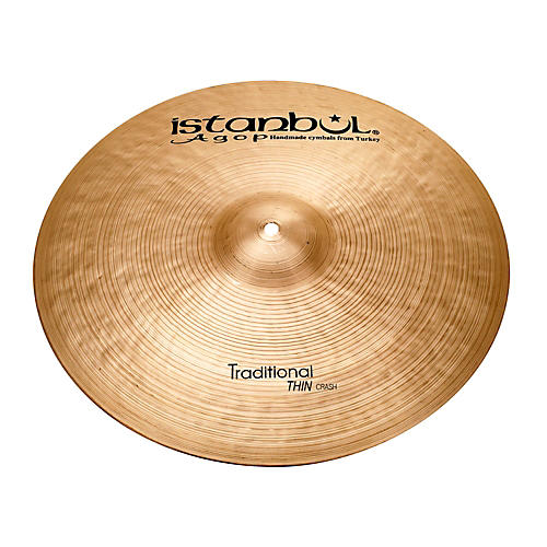 Istanbul Agop Traditional Thin Crash Cymbal