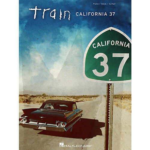 Hal Leonard Train - California 37 for Piano/Vocal/Guitar