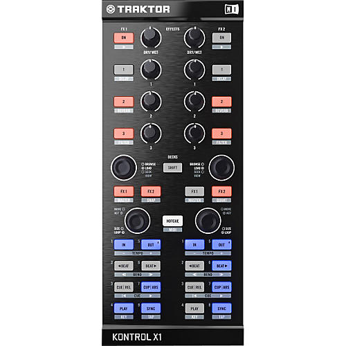 Native Instruments Traktor Kontrol X1 Performance DJ Controller