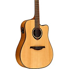 Lag Guitars Tramontane T80DCE Dreadnought Cutaway Acoustic-Electric Guitar Natural