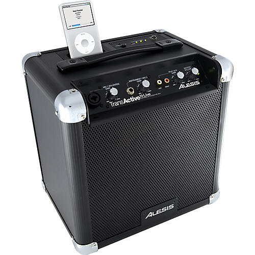 Alesis TransActive Live Portable PA System with iPod Dock