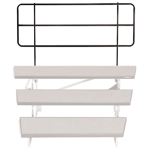 Midwest Folding Products TransFold Choral Risers 46 in. Backrail
