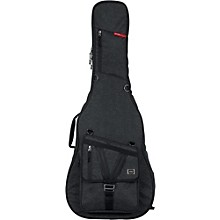 Gator Transit Series Acoustic Guitar Gig Bag Charcoal Black