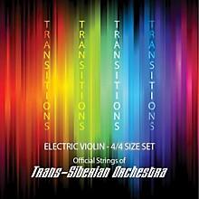 Super Sensitive Transitions Electric Violin Strings D String D 4/4 Silver