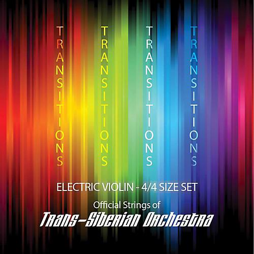 Super Sensitive Transitions Electric Violin Strings E String (plain) E Plain 4/4