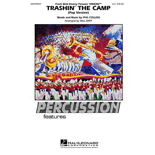 Hal Leonard Trashin' the Camp (Percussion Feature) Marching Band Level 2-3-thumbnail