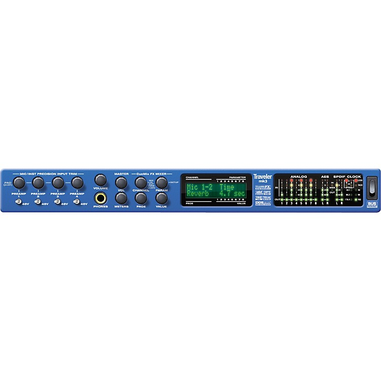 MOTU Traveler-mk3 FireWire Audio Interface