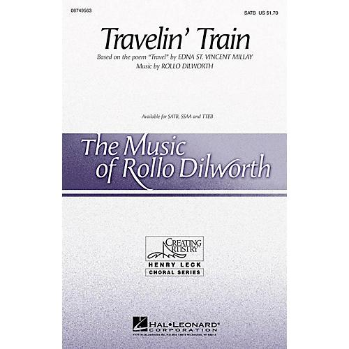 Hal Leonard Travelin' Train SATB composed by Rollo Dilworth-thumbnail