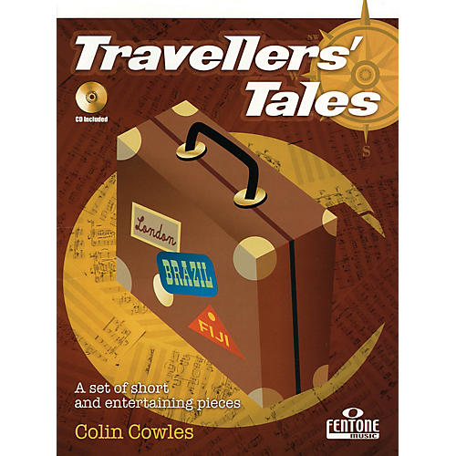 Fentone Travellers' Tales (for Alto Saxophone) Fentone Instrumental Books Series Book with CD