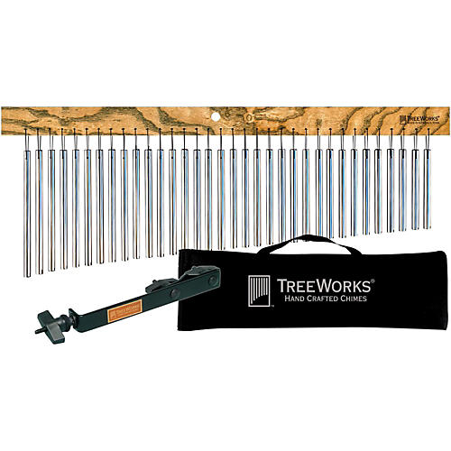 Treeworks Tre35 Aluminum Classic Chimes with Soft Bag and Free Mount-thumbnail