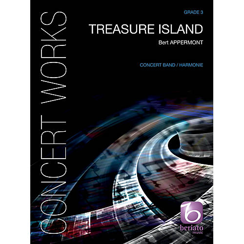 De Haske Music Treasure Island Concert Band Level 4 Composed by Bert Appermont-thumbnail