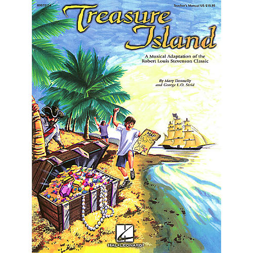 Hal Leonard Treasure Island (Musical) PREV CD Composed by Mary Donnelly-thumbnail