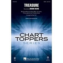 Hal Leonard Treasure SAB by Bruno Mars Arranged by Mac Huff