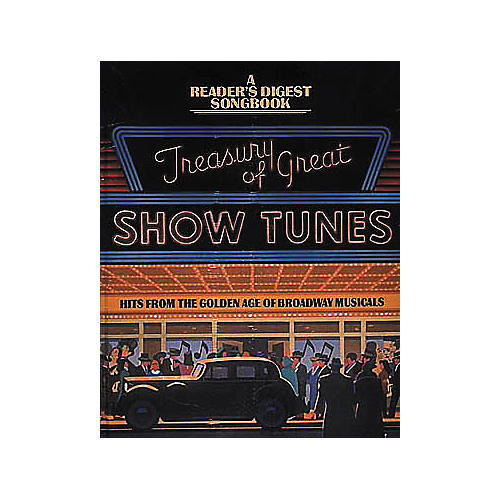 Hal Leonard Treasury Of Great Show Tunes Piano/Vocal/Guitar Songbook