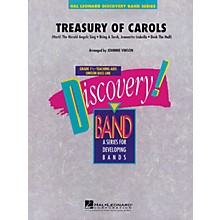 Hal Leonard Treasury of Carols Concert Band Level 1.5 Arranged by Johnnie Vinson