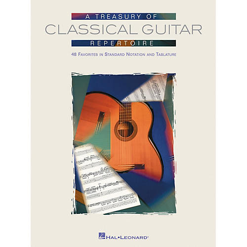 Hal Leonard Treasury of Classical Guitar Repertoire Tab & Notation Book