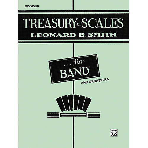 Alfred Treasury of Scales for Band and Orchestra 2nd Violin-thumbnail