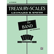 Alfred Treasury of Scales for Band and Orchestra 3rd Trombone