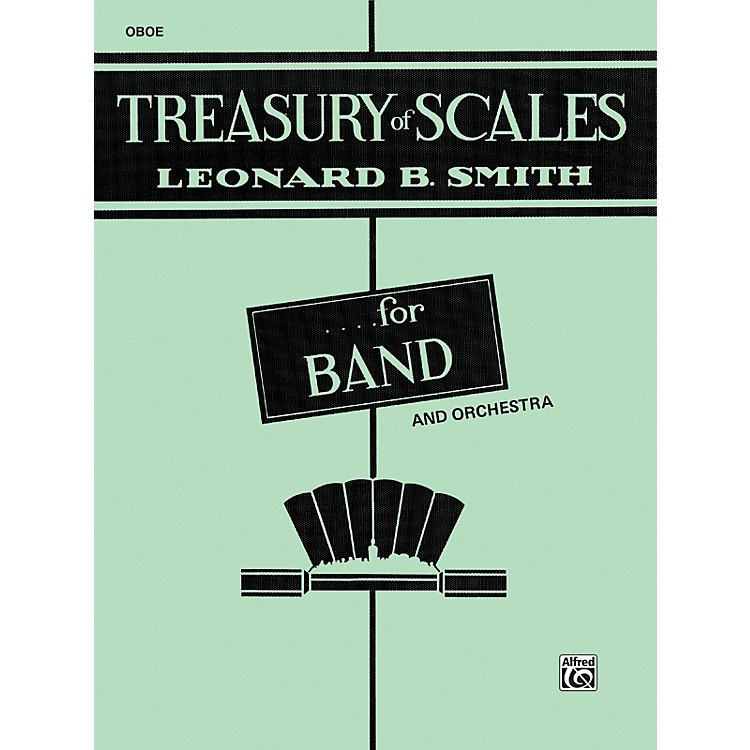 Alfred Treasury of Scales for Band and Orchestra Oboe
