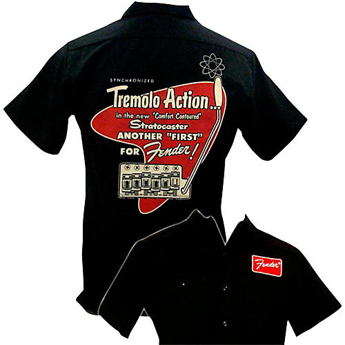 Fender Tremolo Work Shirt-thumbnail