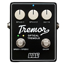 Open Box BBE Tremor Analog Tremolo Guitar Effects Pedal