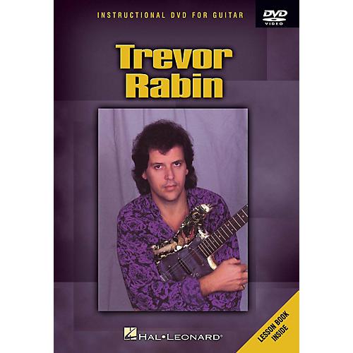 Hal Leonard Trevor Rabin (Instructional DVD for Guitar) Instructional/Guitar/DVD Series DVD Performed by Trevor Rabin