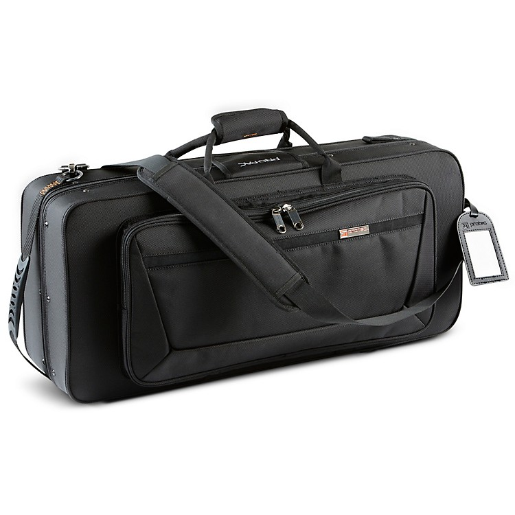 Protec Tri Pac Case for Alto Sax, Clarinet and Flute Black