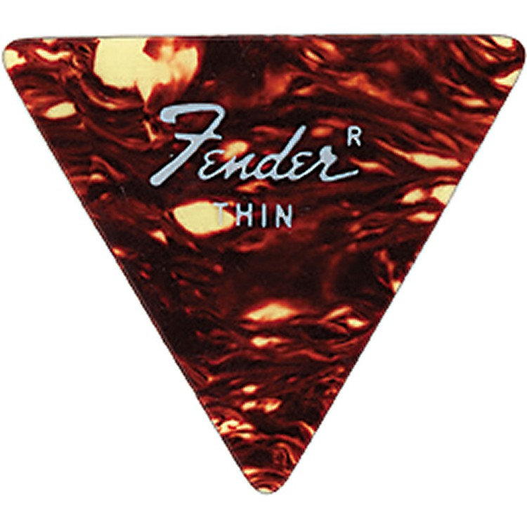 Fender Triangle Guitar Picks Medium 6 Dozen