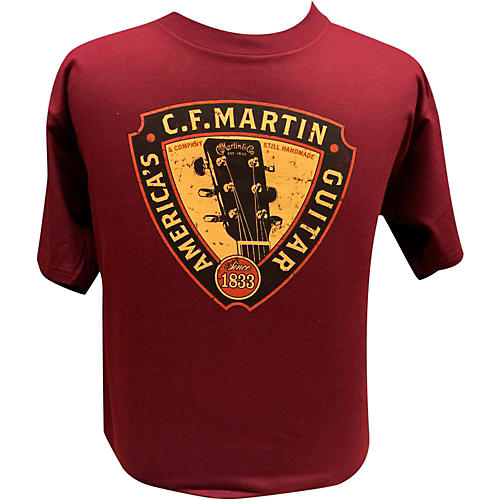Martin Triangle Headstock T-Shirt-thumbnail