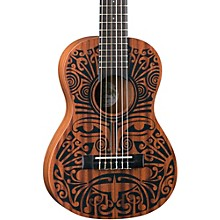 Luna Guitars Tribal 6-String Mahogany Ukulele