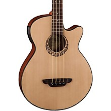 Luna Guitars Tribal Short Scale Acoustic-Electric Bass Level 2 Regular 190839135490