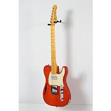 G&L Tribute ASAT Classic Bluesboy Semi-Hollow Electric Guitar Level 2 Clear Orange, Maple Fretboard 888366072172