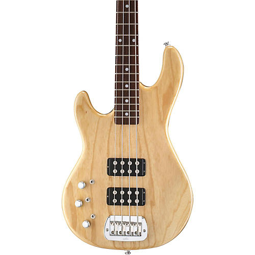 G&L Tribute L2000 Left-Handed Electric Bass Guitar Natural Gloss Rosewood Fretboard