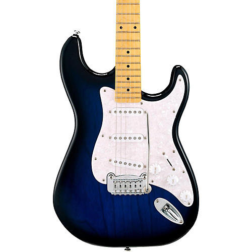 G&L Tribute Legacy Electric Guitar Blueburst Maple Fretboard